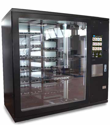 Alps Innovations Group Unveils Colosseo VendingMachine